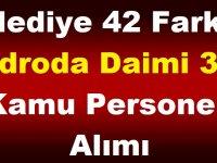 Belediye 42 Farklı Kadroda 387 Daimi Personel Alımı