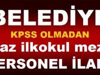 Niğde Belediyesi KPSS Şartsız 5 Sıhhi Tesisatçı Kamudan Kariyer işçi Alımı