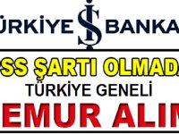 Türkiye İş Bankası yeni personel alımı iş ilanı