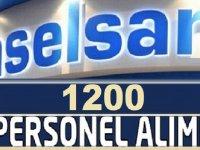 Aselsana 1200 Personel Alımı Yapılacak