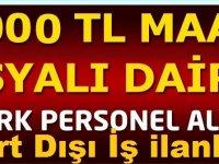 Mısır'da 5000 TL Maaşla iş ilanı