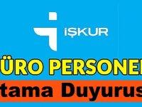 Alanya Gazipaşa Sulama Birliği Başkanlığı Büro Personeli Alımı