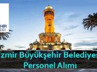 İzmir Büyükşehir Belediyesi şehir plancısı, spor yöneticisi ve büro memuru alıyor