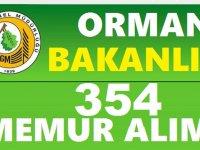 OGM Orman İşletme Müdürlükleri 354 Kamu Personeli Alımı