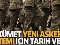 Yeni askerlik sistemi düzenlemesi Nisan ayında