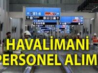Havalimanına Bagaj Memuru ve Kamu Personeli Alımı