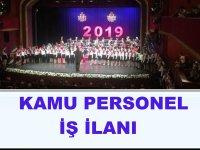 İstanbul Devlet Opera ve Balesi Müdürlüğü Personel İş İlanı 2019