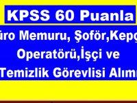 Belediye Kpss 60 puanla Çok Sayıda Belediye Personel İş İlanı
