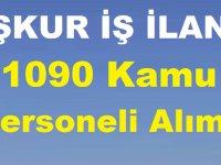 İşkur Mart 2019 1090 Kamu Personeli Alımı Yapıyor