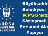 Bursa Osmangazi Belediyesi Beden işçisi , Yük Taşıma Şoförü ve Temizlik Görevlisi alıyor