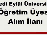 Bandırma Onyedi Eylül Üniversitesi Öğretim Üyesi Alıyor