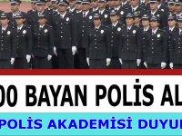 3 Bin Kadın Polis Alımı Polis Akademisi kılavuzu Yayınladı