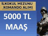 Jandarma Genel Komutanlığı Komando Branşlı Uzman Erbaş Ataması 2019