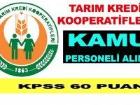 Tarım Kredi Kooperatifleri Ziraat Mühendisi ve Kooperatif Memuru Alımı Yapıyor