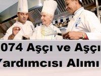 1074 Aşçı ve Aşçı Yardımcısı Alımı İşkur Vasıtasıyla