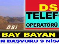 Telefon Operatörü Kamu Personel Alımı - işkur İş İlanları 2019