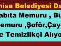 MASKİ Manisa Belediye İŞKUR iş ilanlarıyla 17 Personel alıyor.