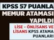 KPSS 2019/2 ile 57 KPSS Puanla Memur Oldu!