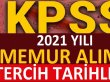 2021 KPSS tercih tarihleri açıklandı